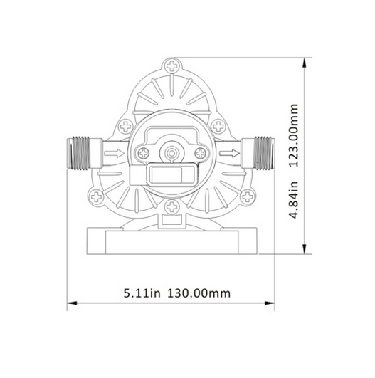 33-series diaphragm water pumps