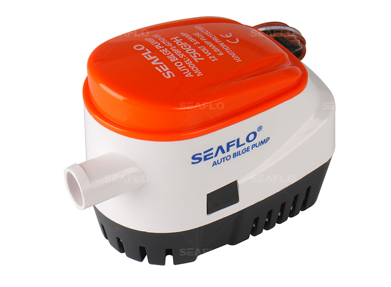750 gph automatic bilge pump - seafresh marine