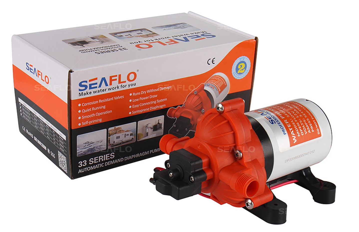 33 series diaphragm water pumps seafresh marine an authorized 33 series diaphragm water pumps ccuart Images